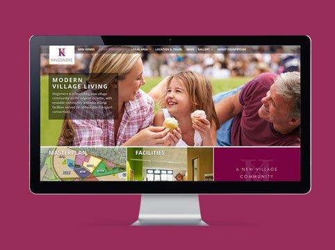 Kingsmere Bicester website