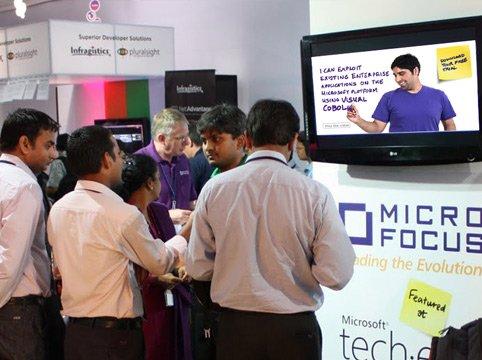 Micro Focus launch event