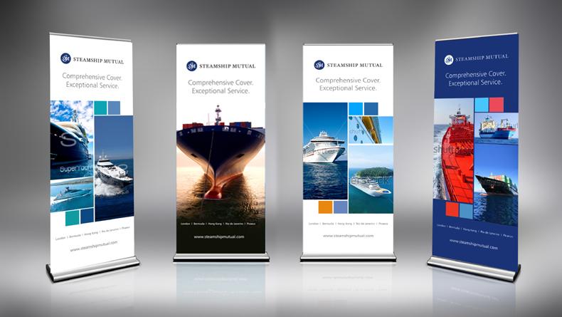 Steamship Mutual banners