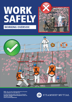 Steamship Mutual safety poster