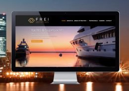 Frei Solicitors website
