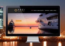 Frei Solicitors website