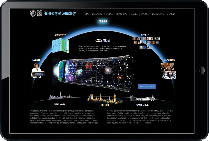 Philosophy of Cosmology website