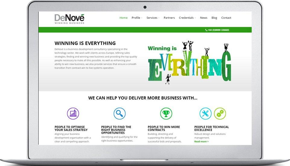 DeNove website