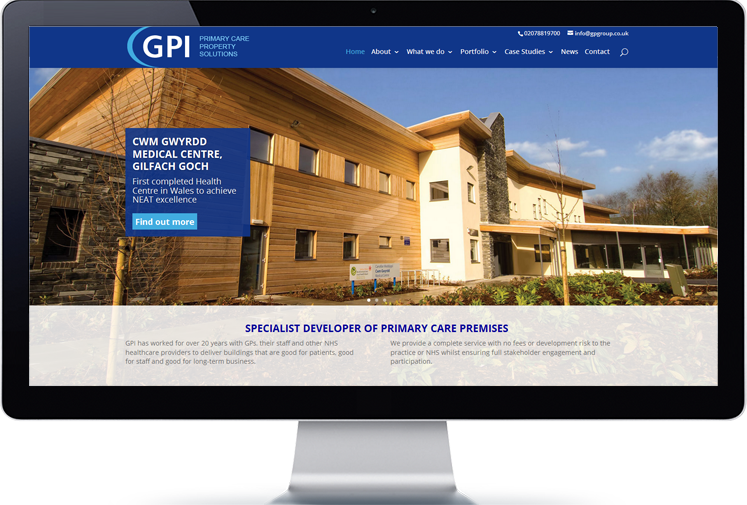 GP Group web site
