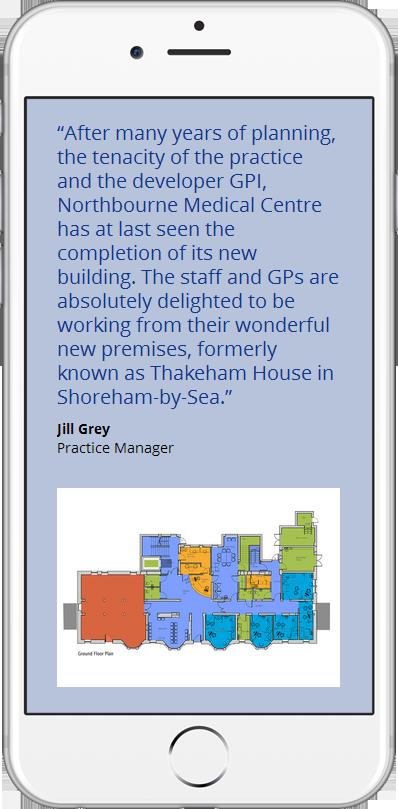 GP Group web site