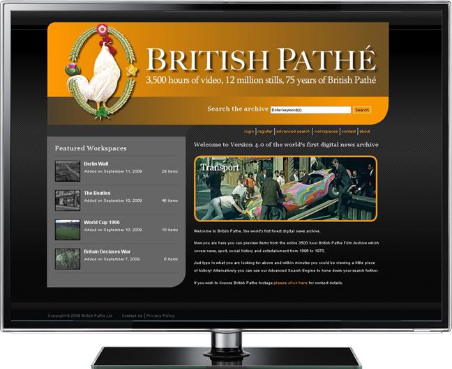 British Pathé presentation