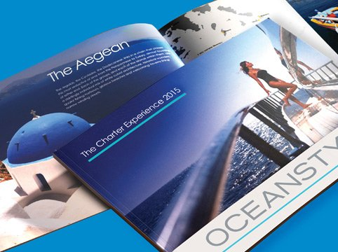 Oceanstyle Yachts charter brochures