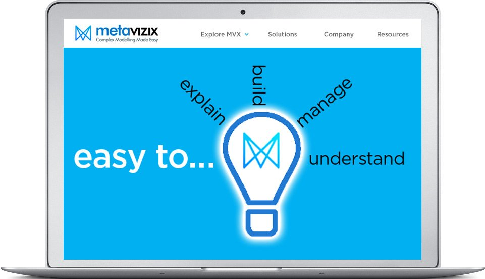 MetaVizix website