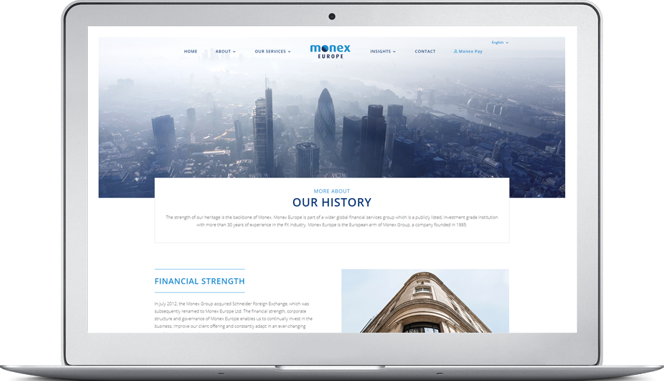 monex website