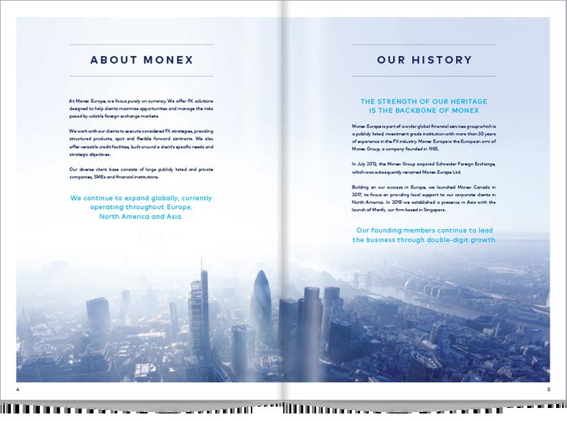monex brochure